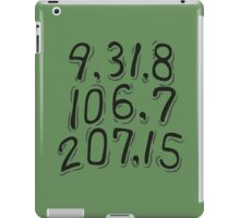 Jiraiya's Dying Message - Naruto (Cryptic) iPad Case/Skin