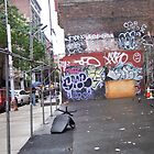 SoHo street art 3 by Vanessa Potier