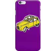citroen 2 cv  iPhone Case/Skin