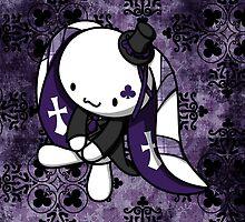 Princess of Clubs White Rabbit by fushiginaringo