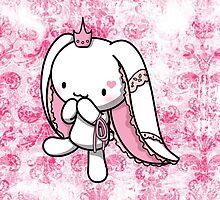 Princess of Hearts White Rabbit by fushiginaringo