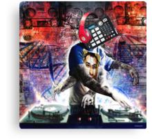 The DJ Canvas Print