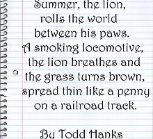 Summer, The Lion by JuanMcGowen