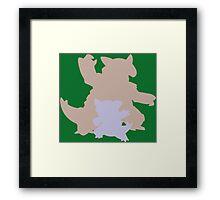 The Kangaroo Framed Print