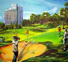 Royal Pines Golf  by tola