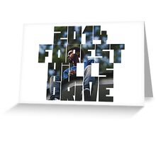2014 Forest Hills Drive Greeting Card