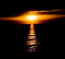 Portsea  sunset by Rosina  Lamberti