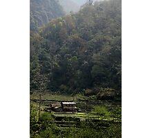 A quiet place- Nepal Photographic Print