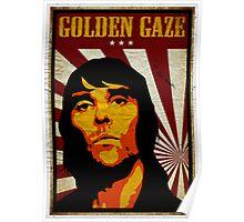 Golden Gaze Poster