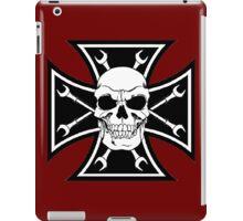 SKULL CROSS WRENCH iPad Case/Skin