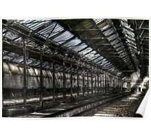 Train Shed Poster