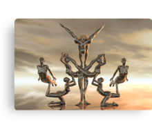 The Contortionists Canvas Print