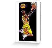 L.A. Lakers Air Quality Greeting Card