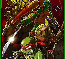 Heroes in a Half Shell by Mike Dio