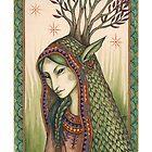 She spoke a green language... by NadiaTurner