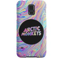 Arctic Monkeys Color Swirl  Samsung Galaxy Case/Skin