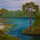 paisagem II by Leda Carniel Benin