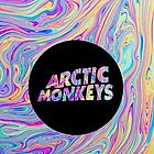 Arctic Monkeys Color Swirl  by MinorMishap