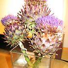 Flowering Artichoke by JohnW