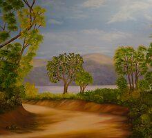 paisagem III by Leda Carniel Benin