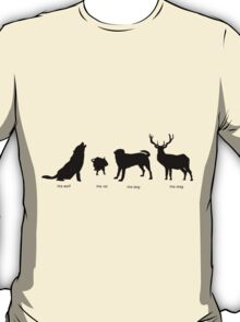 Marauders Full Body Animagus T-Shirt