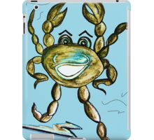 Crab Ham - Laughs a Minute!  iPad Case/Skin
