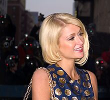 Paris Hilton  by andykazie