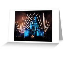 Magic Kingdom Fireworks Greeting Card