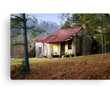 Early Settler Canvas Print