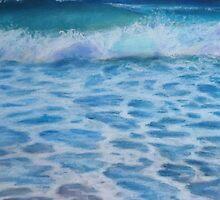 Seafoam by Amy Barnett