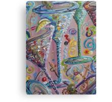 Martini Madness Canvas Print