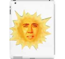 Nicolas Cage Teletubbies Sun iPad Case/Skin