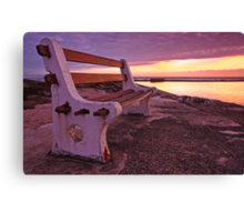 Front Row seat Canvas Print