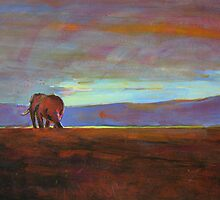 Ngorongoro Sunset by Catherine Kuzma