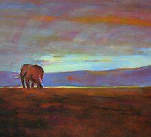 Ngorongoro Sunset by Catherine Kuzma