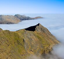 Crib Goch by Rob  Ford