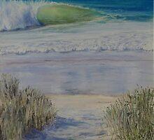 A stroll to the Beach by Amy Barnett