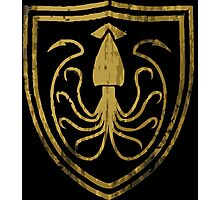 Sigil for House Greyjoy Photographic Print