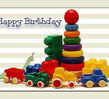 Little Boy's Birthday Card by Bonnie T.  Barry