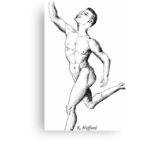 Anatomy of a Dancer Canvas Print