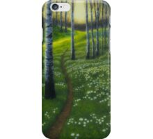 Spring path iPhone Case/Skin