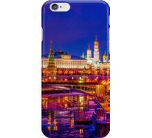 Panoramic View Of Moscow Kremlin iPhone Case/Skin