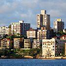 Sydney City Scape by Sarah Miller