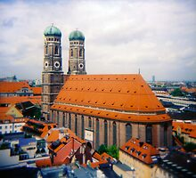 Frauenkirche Munich Germany  by kevin smith  skystudiohawaii