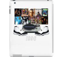 1996 Hip Hop & Jordans iPad Case/Skin