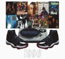 1996 Hip Hop & Jordans (Infrared23) by finnyproduction