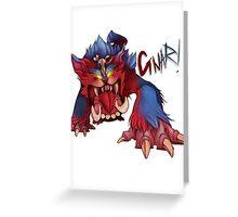 GNAR Greeting Card