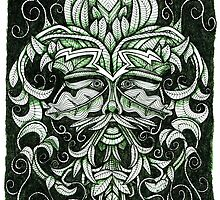 The Green Man by Amiteestoo