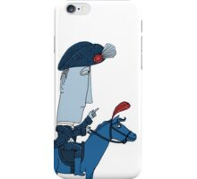 Napoleon and his Horse iPhone Case/Skin