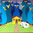 Feed the Birds - Quilt by Neroli Henderson